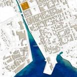 Citygallerian ligger mellan stadens gågata och Mieån